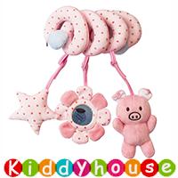 bb嬰兒玩具/禮物精選~可愛小動物BB車床繞 T677 現貨