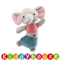 bb嬰兒玩具/禮物精選~可愛精靈動物BB手搖棒嬰幼兒玩具 T706 現貨