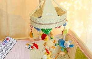 嬰兒電動旋轉音樂床鈴 / 懸掛式布藝挂件