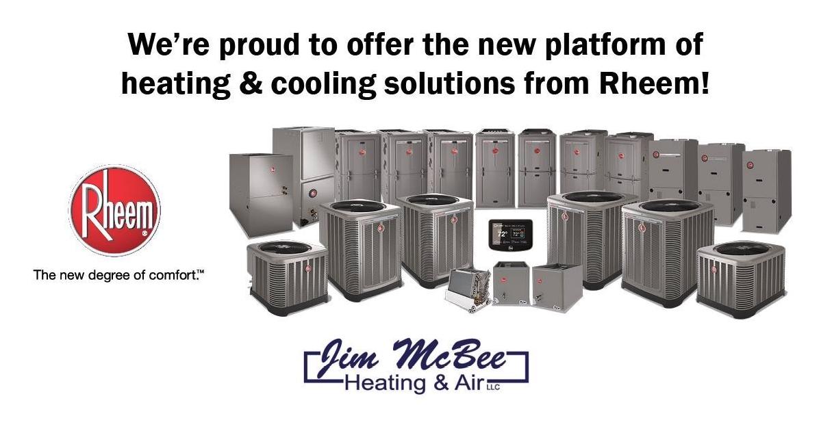 Contact Jim McBee Heating & Air LLC