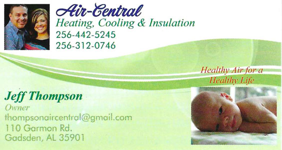 Air-Central Heating and Cooling air conditioning and furnace repair services