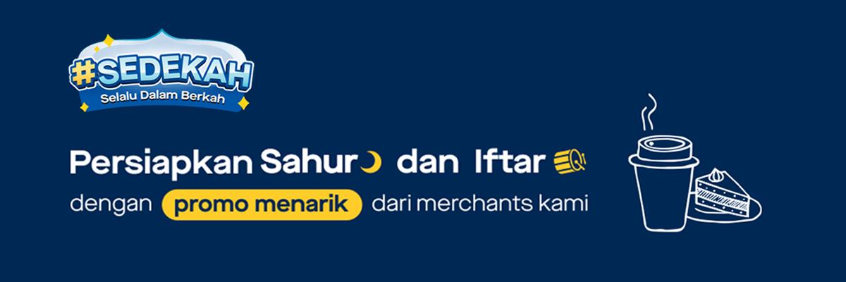 Promo SEDEKAH Ramadan 2021