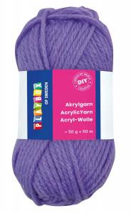 Acrylic yarn 50 g purple