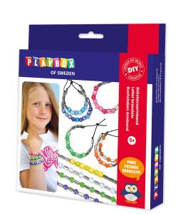 Craft set letter bracelet