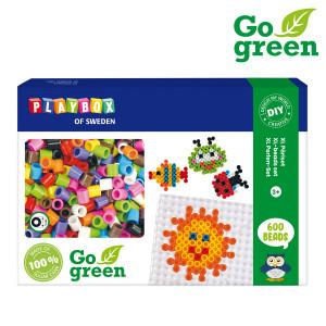 XL-Pärlset I´m green 600 rörpärlor