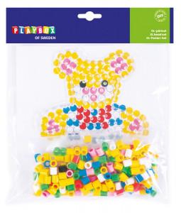 XL-pälset björn ~ 250 rörpärlor