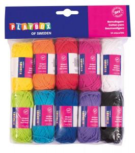 Mini yarn cotton 10 x 10 g