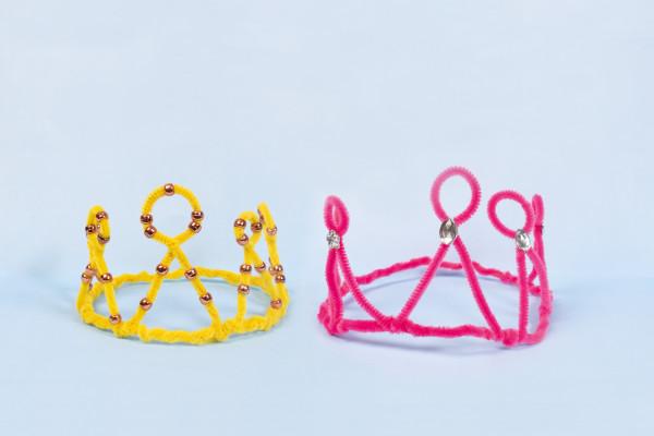 Make a chenille crown