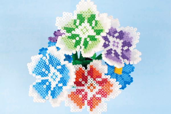 Pärla blommor och ge bort i present