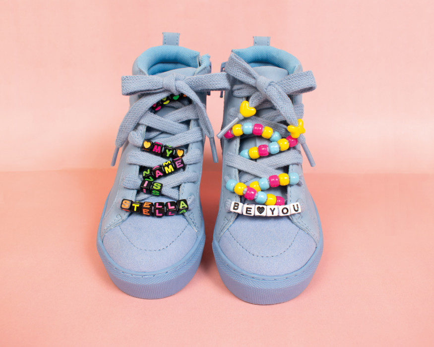 Personalized shoelaces -