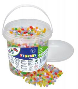 Rörpärlor pärlemor mix 5000 st i hink