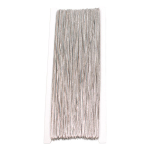 Elastischer Faden silber 50 m Ø 1 mm
