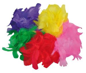 Federn verschiedene Farben 200 Stk.