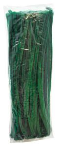 Chenilles green100 pcs
