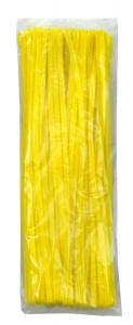 Chenilles yellow 100 pcs