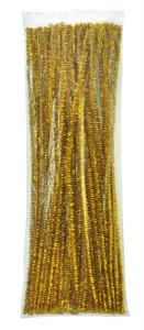Chenilles gold 100 pcs