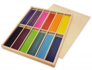 Färgpennor 216 st smala