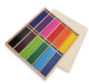 Färgpennor 144 st tjocka