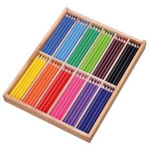 Färgpenna 144 st trekant