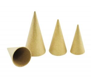 Paper cone 30 pcs 8, 10, 12 cm