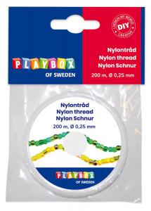 Nylon Schnur 200 m x 0,25 mm