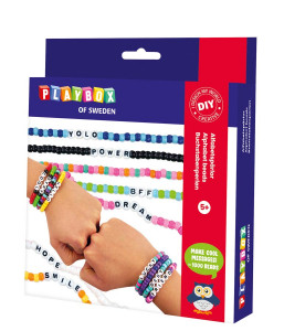 Craft set alphabet beads