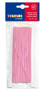 Elastischer Faden rosa 25 m Ø 1 mm