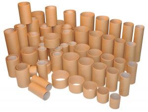 Cardboard tubes 100 pcs