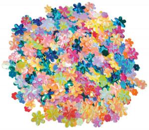 Paljetter blommor 250 g