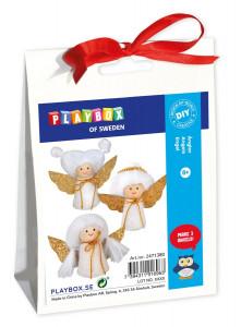 Julpyssel änglar