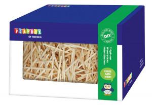 Holzstäbchen in Box 350 gr