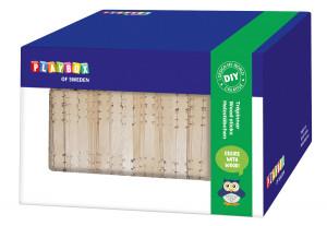 Holzstäbchen in Box zusammensetzbar 1000 Stk.