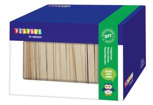 Holzstäbchen in Box 1000 Stk.