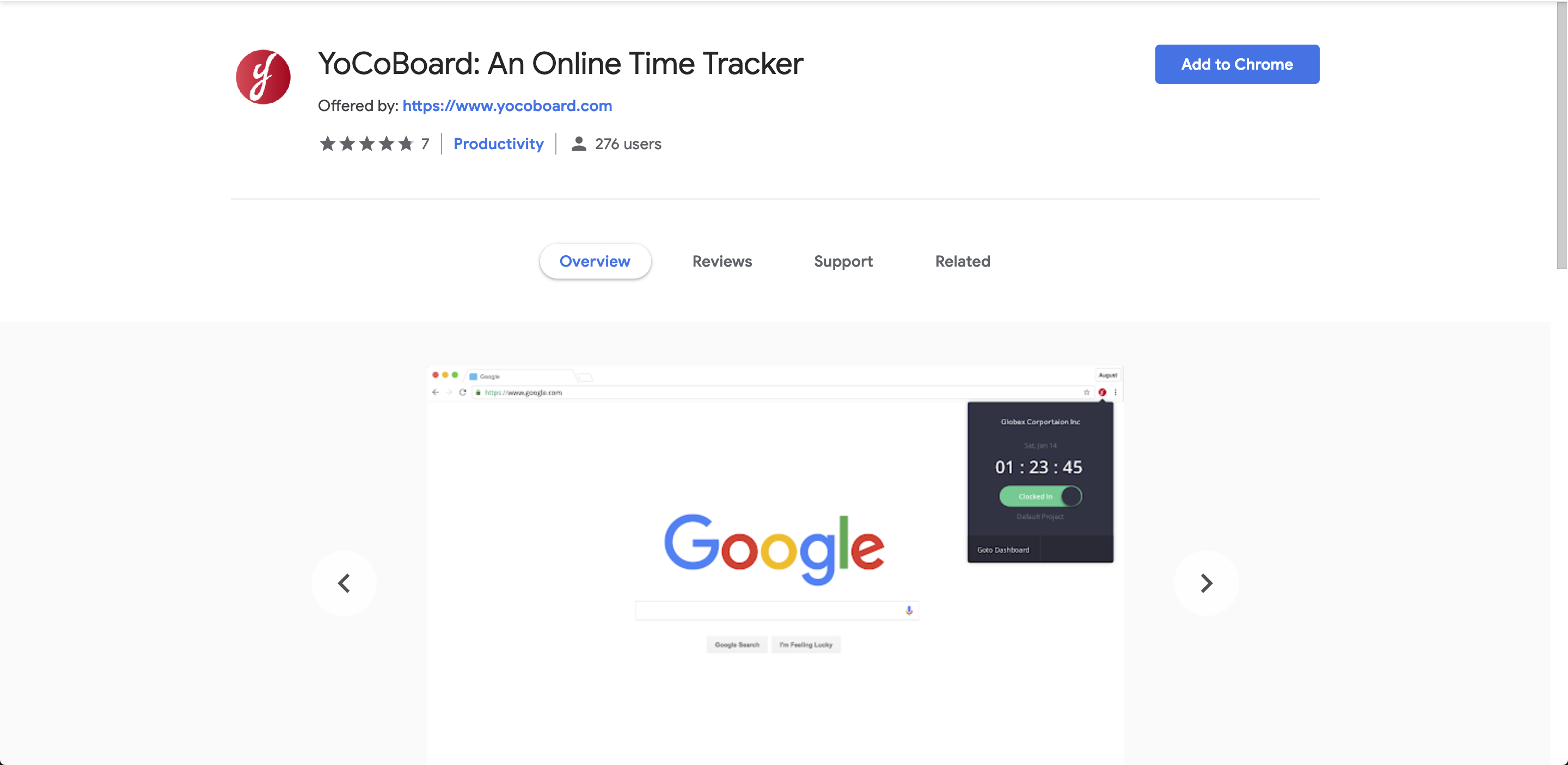 YoCoBoard - Support - Free Online Time Tracking Application