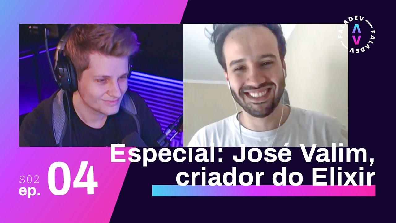 Faladev #26   Especial: entrevista exclusiva com José Valim, criador da linguagem Elixir