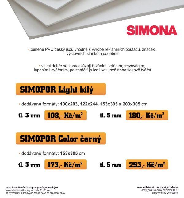 AKCE GR - PVC desky SIMONA