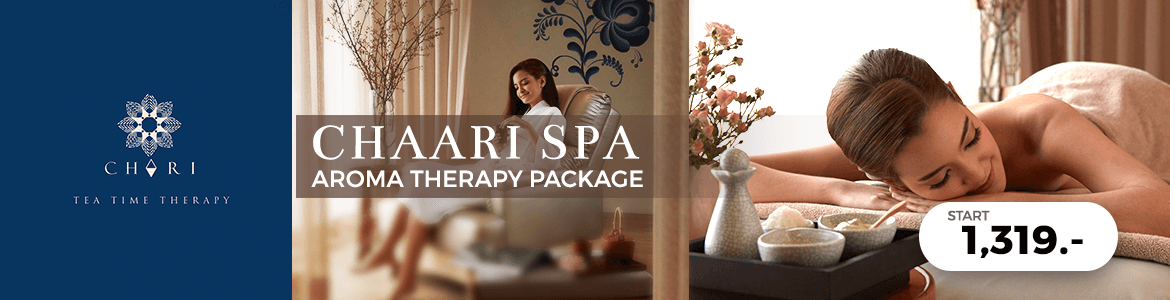 Chaari Spa : Aroma Therapy Package