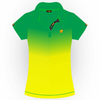 LOUDMOUTH GRADIENT POLO | Emerald (Ladies) | Size S