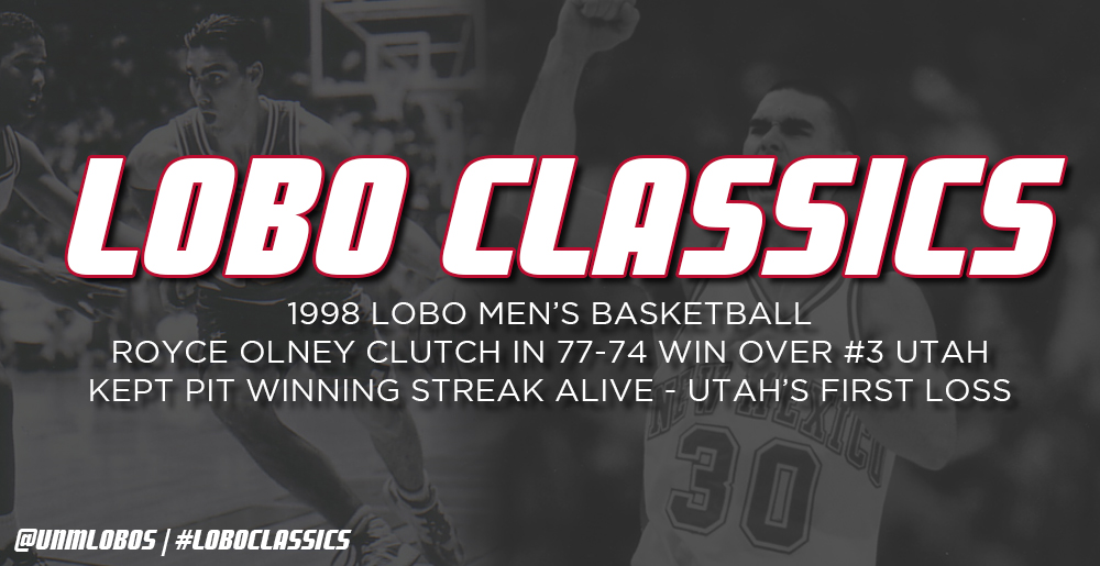 Lobo Classics - Men's Basketball vs. Utah (1998)