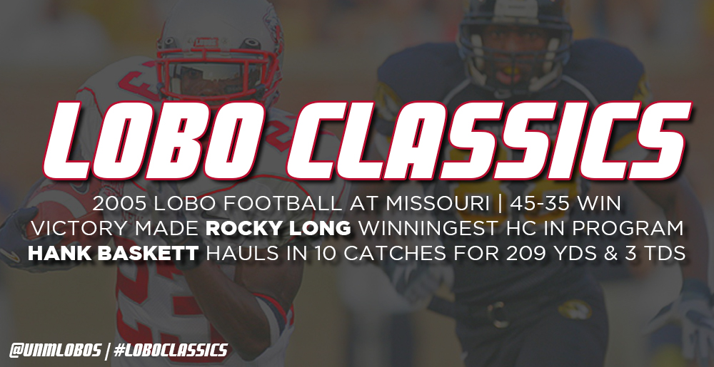 Lobo Classics - Football at Missouri (2005)