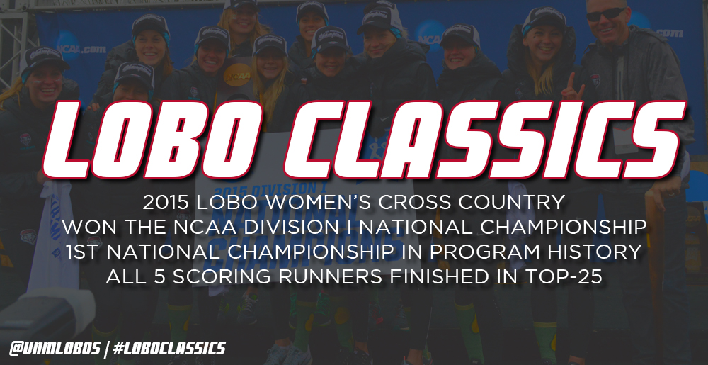 Lobo Classics - Women's Cross Country National Championship (2015)