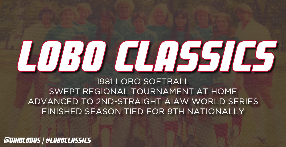 Lobo Classics - Softball AIAW World Series (1981)