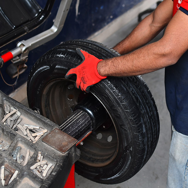 Tyres Replacement
