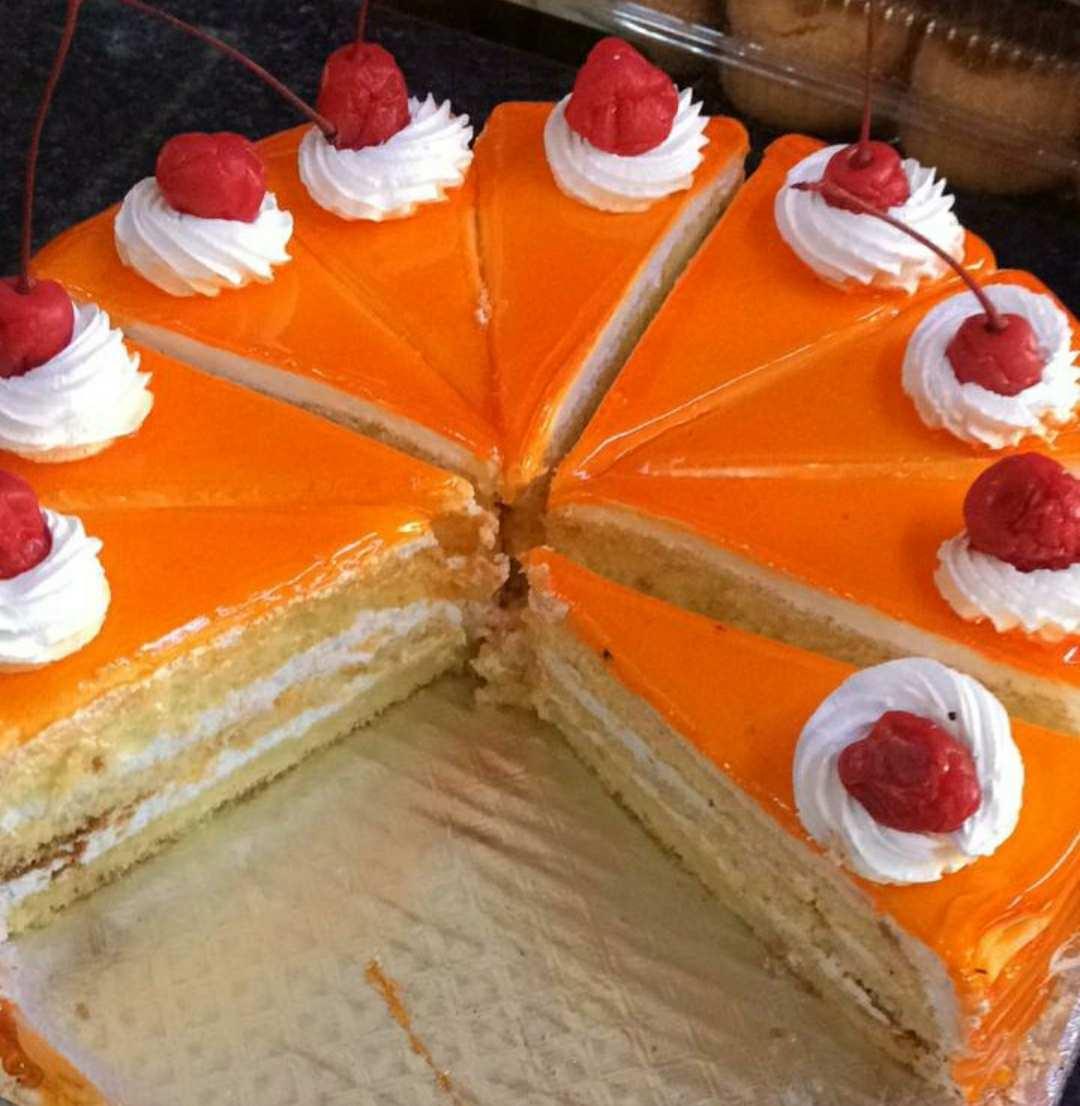 Orange cool cake