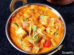 Kadai Panner Curry