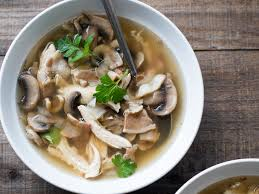 Chicken Mashroom Soup