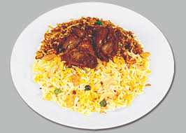 Chicken liver Biryani
