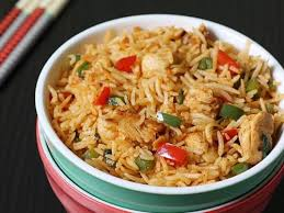 Chicken sezwan fried rice