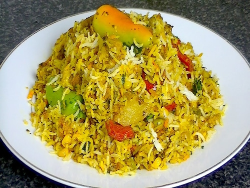 Spl Veg Fried Rice