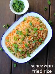 Veg Sazwan Fried Rice